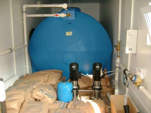 Блочно-модульная станция водоподготовки питьевой воды Сокол. Проектирование. Монтаж в г. Нефтекамск Фото 4