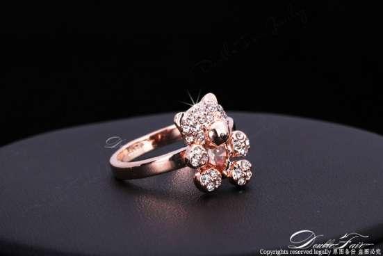 Кольцо (покрытие - розовое золото) в Перми Фото 2