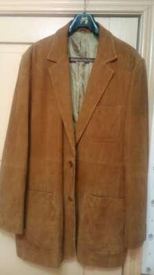 Пиджак мужской замшевый