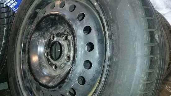 R16 205/55 94V Michelin и диски 5х114- в Красноярске Фото 3