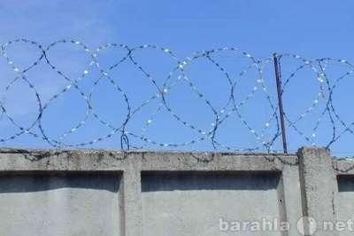 Забор из колючей проволоки