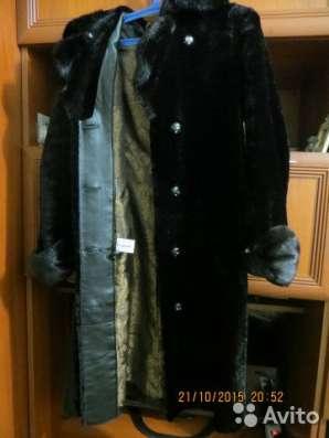 Классическое меховое пальто