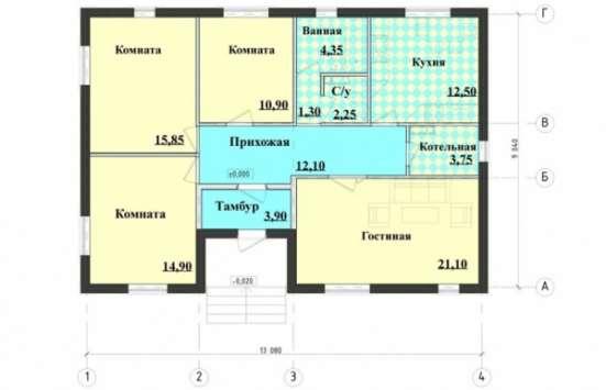 Строительство из таумалитовых панелей жилого дома под ключ в Перми Фото 1