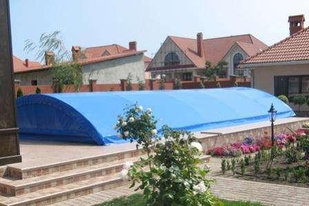 Тентовые укрытия для бассейна в Волгограде