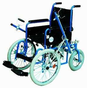 Рычажная инвалидная кресло-коляска мод. 407