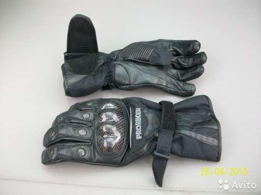 Кожаные перчатки Probiker PR-5 (новые - XL) в Москве Фото 3