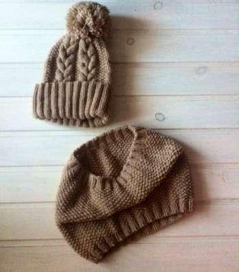 Вязанные комплекты для осени и зимы
