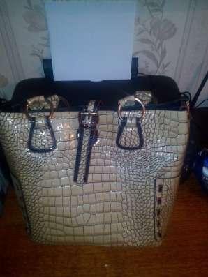Продаётся женская сумка, кофейного цвета