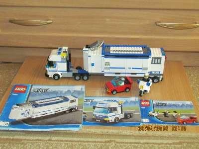 игрушку Лего сити Выездная полиция