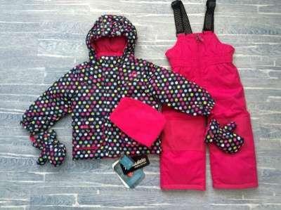 Красивые мембранные костюмы с варежками Snobug by Krickets зима