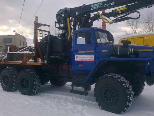 Лесовозный тягач Урал 55571-1151-70M.(ЯМЗ-5362210) 2016 г.в.