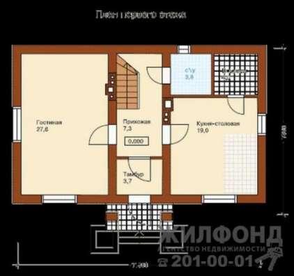 коттедж, Новосибирск, с/о Цитолог, 200 кв.м.