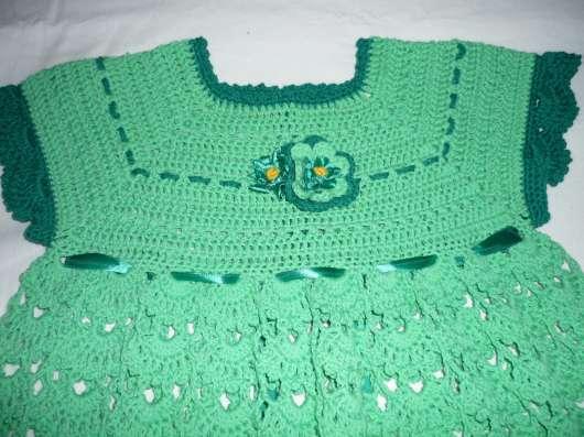 Платье связанное крючком в г. Вышний Волочек Фото 1