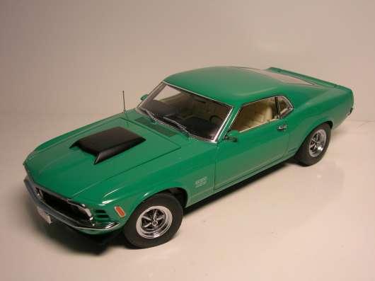 Danbury Mint 1/24 1970 Ford Mustang Boss 429 LE