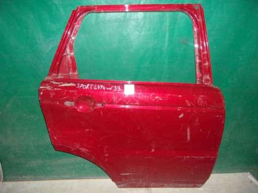 Правая дверь Land Rover Sport L494 красная