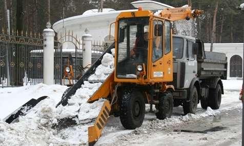 Снегопогрузчик Амкодор-37