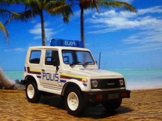 Полицейские машины мира №33 SUZUKI SAMURAI полиция малайзии в Липецке Фото 3