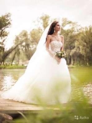 Эксклюзивное свадебное платье в Москве Фото 3