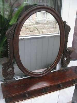 зеркало антикварное