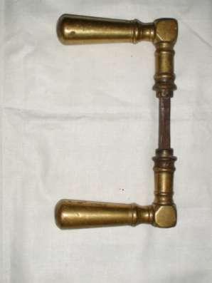 Ручка старинная бронзовая