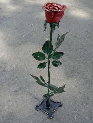 Кованая роза в г. Алматы Фото 1