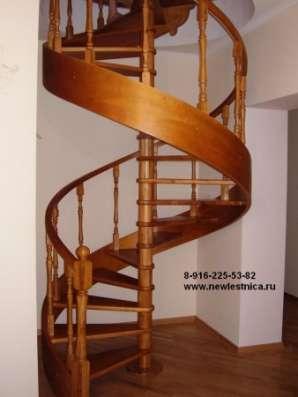 Деревянные лестницы для дома, квартиры и дачи в г. Королёв Фото 2