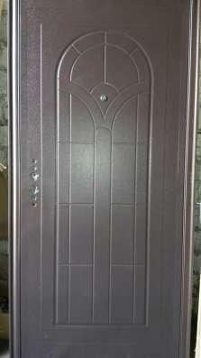 Входные металлические двери эконом вариант