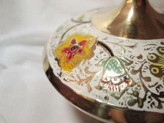 Сахарница латунь эмали в Краснодаре Фото 1