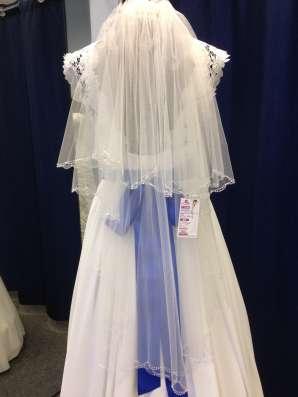Нежное дизайнерское свадебное платье в Москве Фото 1