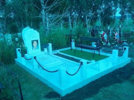 Благоустройство мест захоронений в Барнауле Фото 2