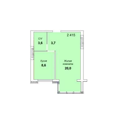 Продается однокомнатная квартира в Тольятти Фото 1