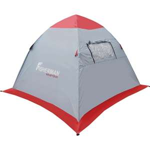 Палатка для зимней рыбалки Нерпа 2 V2 Nova Tour серый/красны