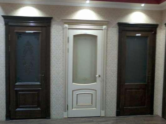 Двери межкомнатные в комплекте
