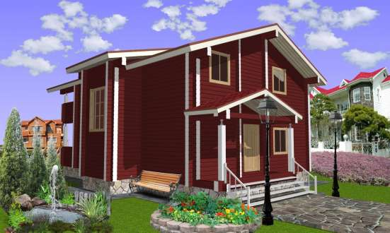 Изготовлю проект деревянного дома