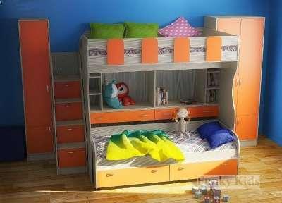 ФК 19 СВ кровать-чердак для двоих детей