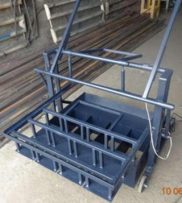 Станок для производства шлакоблоков  ВСШ