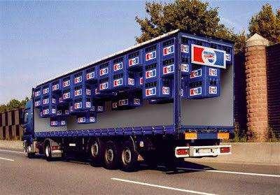 Рекламная печать на бортах грузовиков в Подольске Фото 4