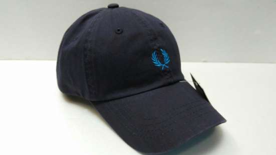 Fred Perry blue бейсболка