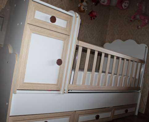 Продаю детскую кроватку (трансформер) в г. Тбилиси Фото 5