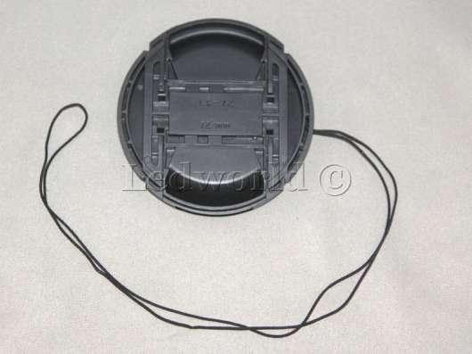 Крышка со шнурком для Nikon 72mm