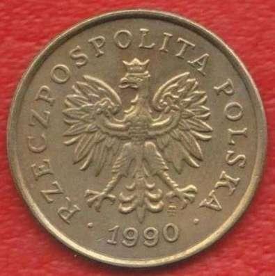 Польша 5 грош 1990 г