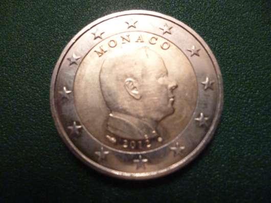 Регулярные 2 евро Монако 2012 года