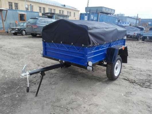 Прицеп для автомобиля КРД050101 1800х1250 с тентом и дугами