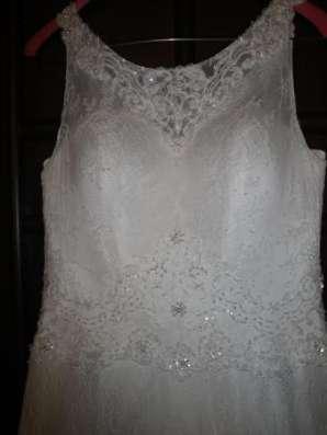 Кружевное свадебное платье + накидка в Москве Фото 4