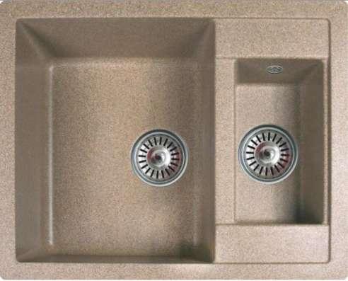 Продажа кухонных моек из искусственного камня U-106