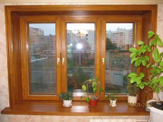 Деревянные окна с теплосберегающим стеклопакетом