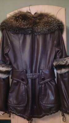 куртку кожа Дубленка