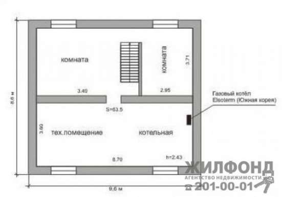коттедж, Новосибирск, Лескова, 194 кв.м.