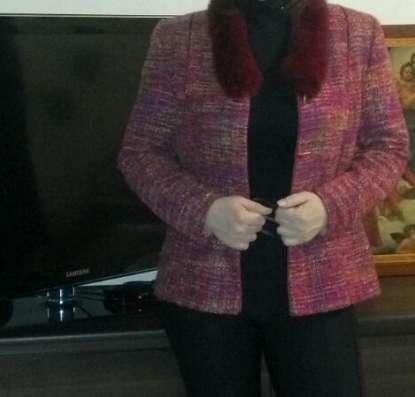 Жакет женский с мехом