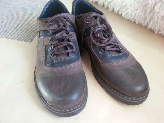 Полуботинки (туфли) мужские демисезонные